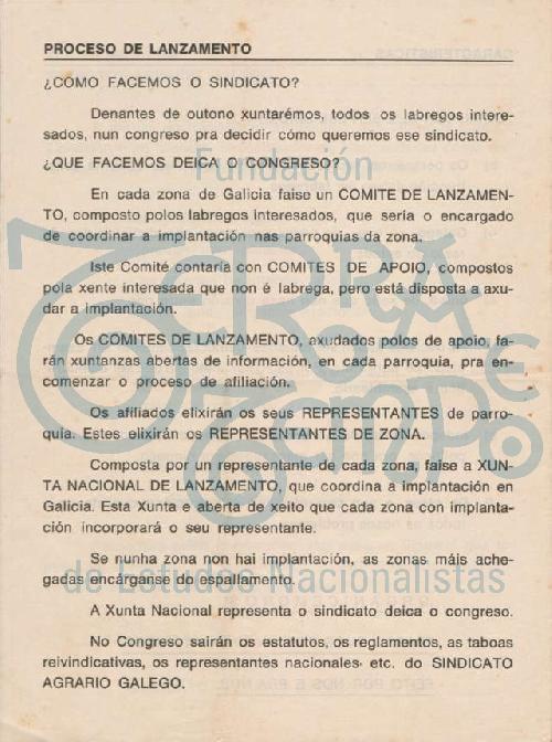 Sindicato agrario galego