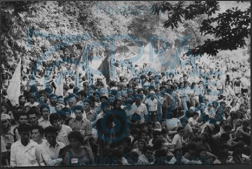 Manifestación do BN-PG o Día da Patria Galega 1978 # 07 Mitin en San Domingos